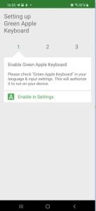 Get iOS Emojis with Green Apple Keyboard 01