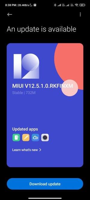 تحديث MIUI 12.5 ريدمي نوت 10 برو