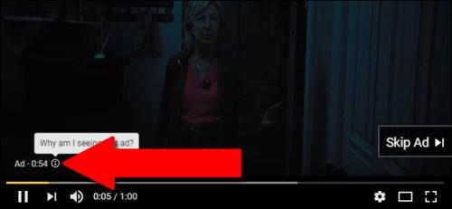 حظر إعلانات معينة من مشاهدة الفيديو