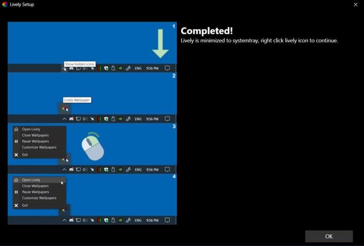 how to set live wallpaper on windows 10 desktop 3