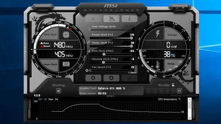 زوّد تردد تشغيل بطاقة الفيديو لكسر السرعة واختبر الأداء مجددًا