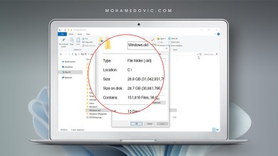 Windows old folder delete banner2