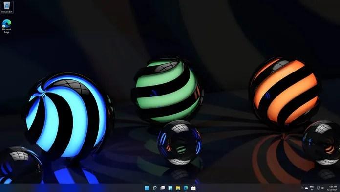 مواضيع خلفيات Windows 11: 3D Theme