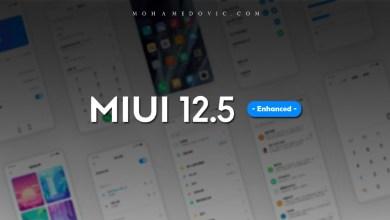 تحديث MIUI 12.5 النسخة المحسنة