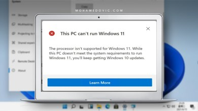 ميكروسوفت تَسمح بتثبيت ويندوز 11 على جهاز غير داعمًا باستخدام ملف ISO، ولكن!