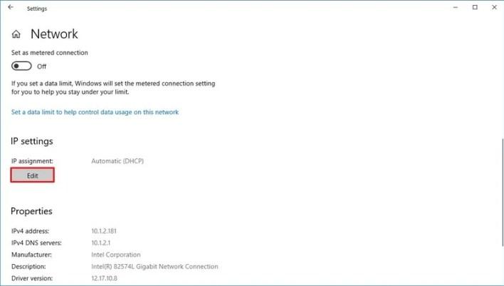 تغيير DNS باستخدام الإعدادات