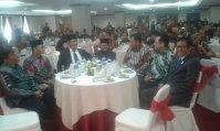 Prof. Jimly Asshiddiqie bersama Mohammad Jafar Hafsah Sekjen ICMI, BJ Habibie, Ketua DPD RI Irman Gusman, Ketua MPR RI Zulkifly Hasan.