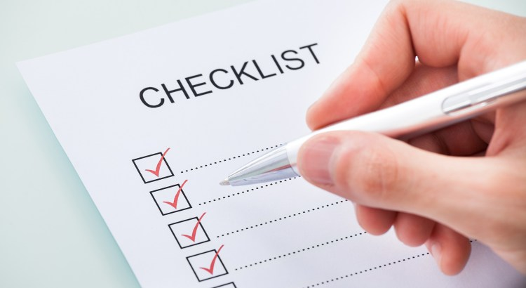 Checklist Before Applying for a Job