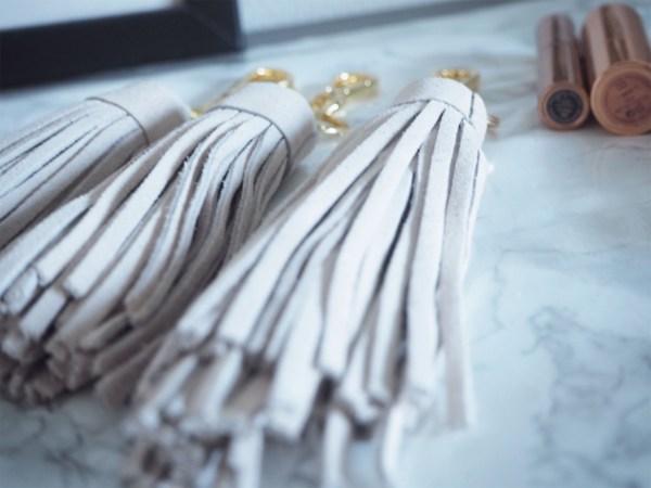 mohanita creations porte clef cuir