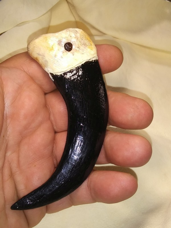 Grizzly Claw Replica 4 Inch Finished model