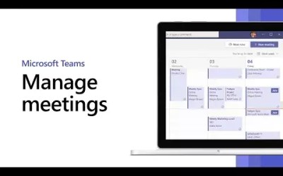 How to manage meetings in Microsoft Teams