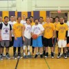 AHS basketball alumni play against varsity in fundraiser event