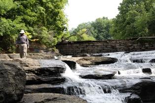 Stewart Dam. Photo by Bob Hartig.