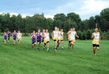 AHS boys lead the pack