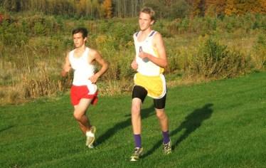 Alex Stewart (with Glens Falls runner)