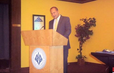 Montgomery County Executive Matthew Ossenfort