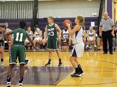 Caitlin Gannon shooting free throws