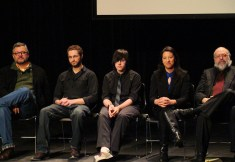Cast and crew of Brink answer questions