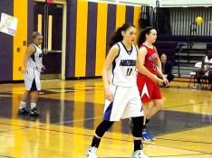 Nina Fedullo #11 and Filiberto (back) on defense