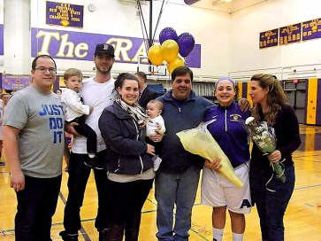 Tessa Filiberto and family