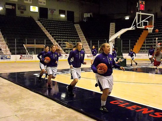 Lady Rams take the floor at Civic Center