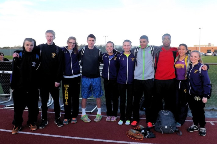 AHS track team seniors