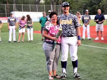 Anthony Noce and his mom