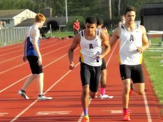 David Graveley taking the baton from Gabe Fernandez