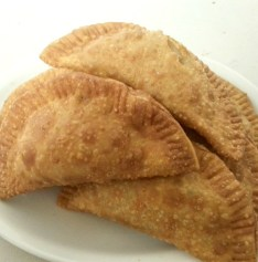 Homemade Sausage Spinach and Crab Empanadas. Photo provided