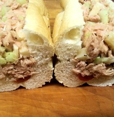 Tuna in Oil Sub. Photo provided