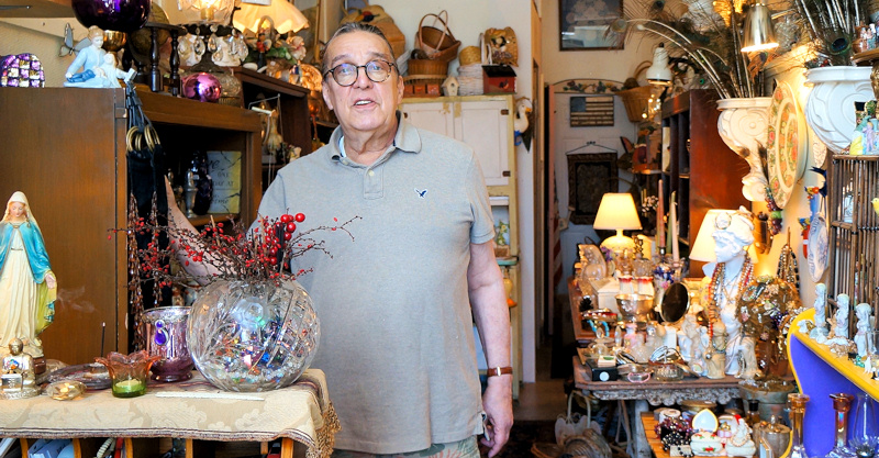 Rob Constantine, owner of Joya Beautiful Vintage Objects