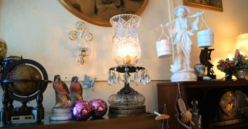 Waterford cut crystal lamp
