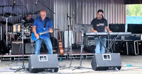 Central NY based Mark Bolas (left) and band