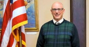 Ken Mazur, candidate for first ward alderman. Photo by Tim Becker.