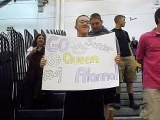 AHS fans showing support for Alanna Kaminski