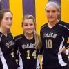 AHS volleyball team honors their seniors