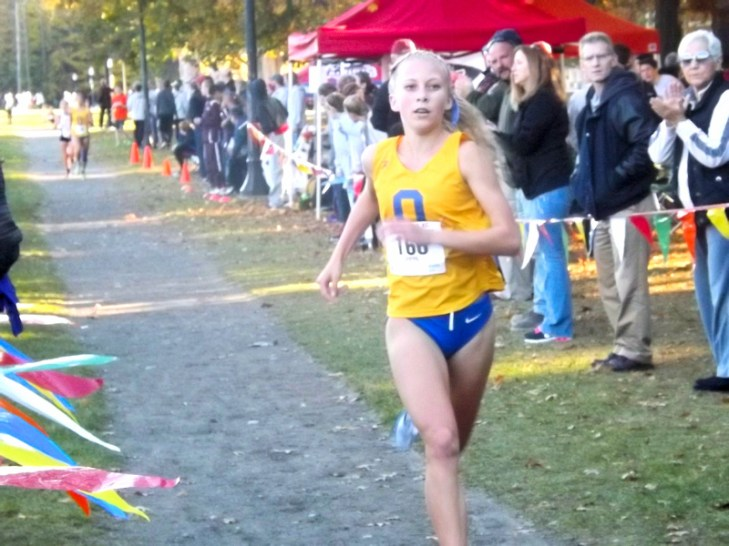 Girls varsity winner Queensbury's Emily Atamanchuk