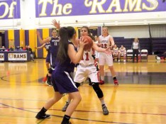 Grace Catena guarded by #11 Emily Pascale