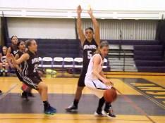 Lucia Liverio controlling the ball