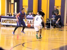 BP's Preston Taylor guarded by Anthony Aponte