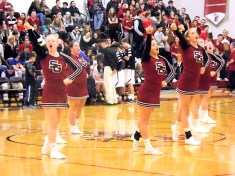 SGHS cheerleaders