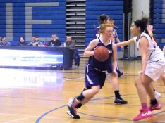 Kaitlyn Devine with the ball