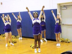 AHS cheerleaders