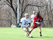 Anthony Barone Lopez with the ball