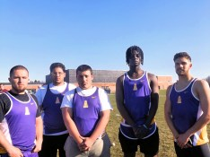 AHS shot put/ discus team