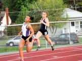 Santana in 200m dash