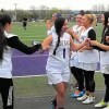 AHS girls lacrosse celebrate winning season on senior night