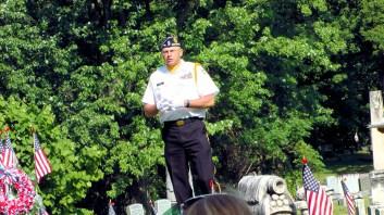 Carl Rice (Commander, Mont. Co. American Legion)