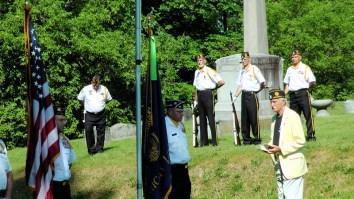 Spanish American War Memorial service