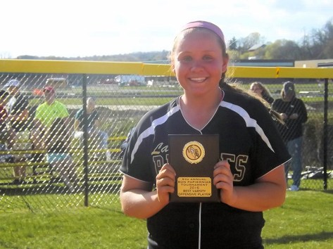 FFHS' Allie Krohn, best varsity offensive player